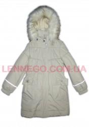 Lenne Lenna пальто для девочки (бежевое)