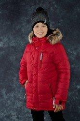 Lenne Luke куртка для мальчика, красная подросток