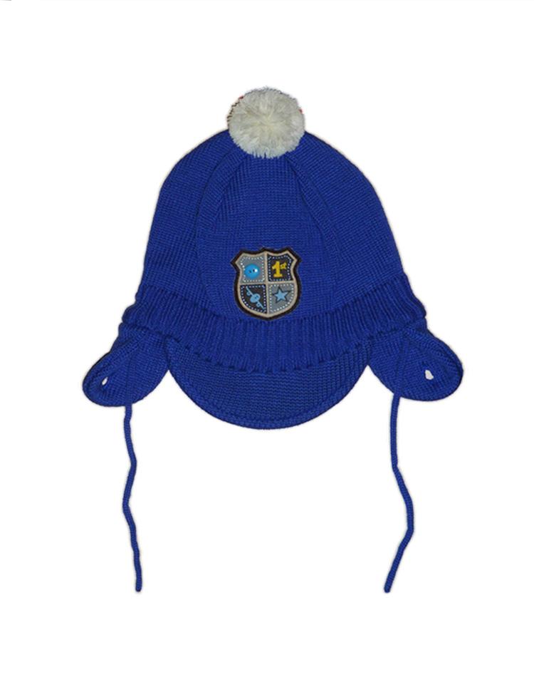 Lenne Nels шапка для мальчика (синяя)