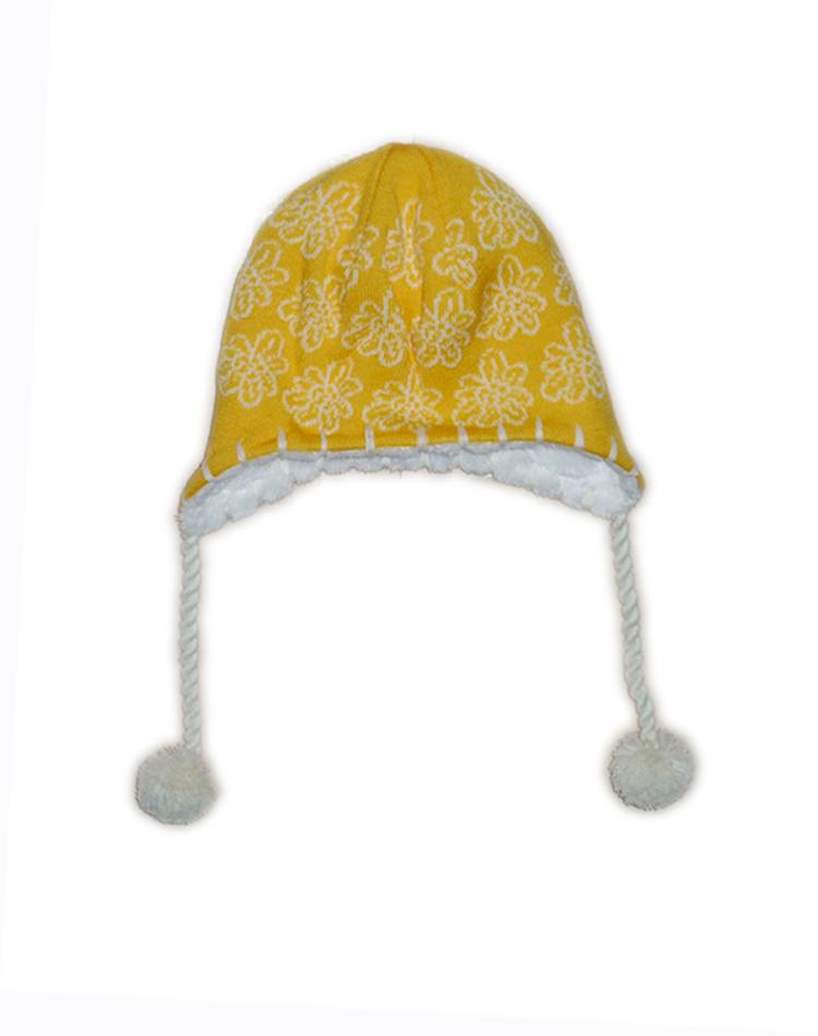 Lenne Pille шапка для девочки (желтая)