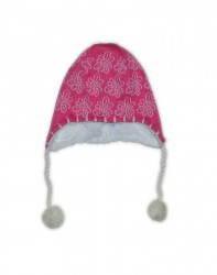 Lenne Pille шапка для девочки (коралловая)