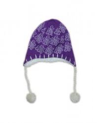 Lenne Pille шапка для девочки (фиолетовая)