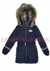 Lenne Shine пальто для девочки (темно-синее)