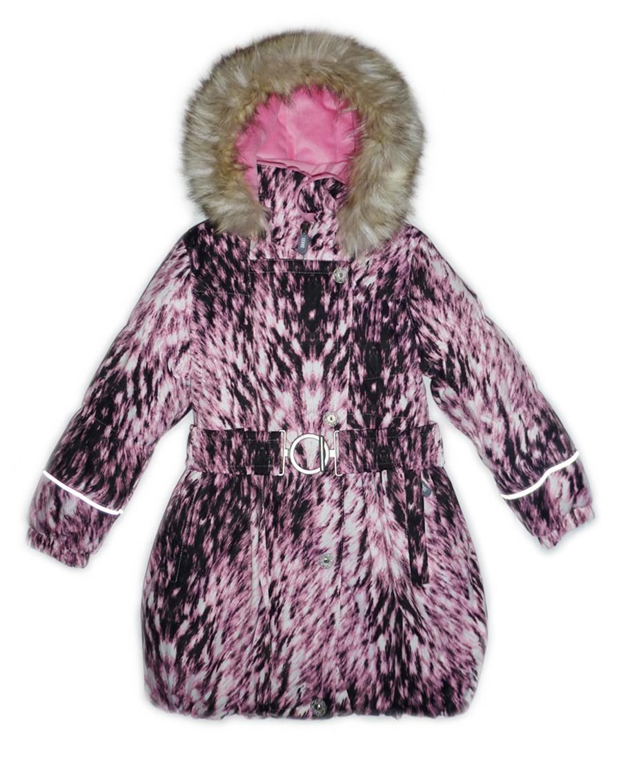 Lenne Sonja пальто для девочки (розовое)