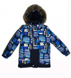 Lenne Time куртка для мальчика (синяя)