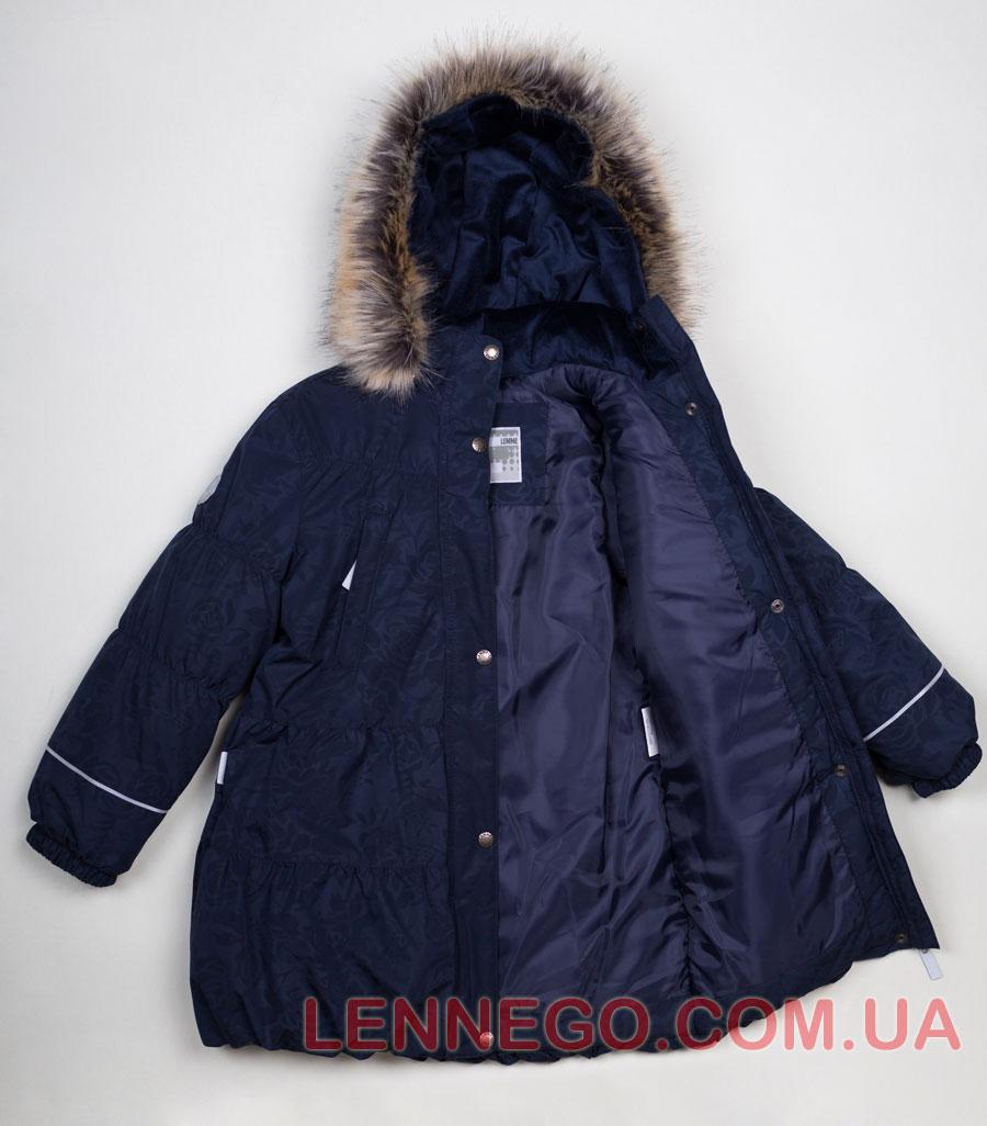 Lenne Alice пальто для девочки синее