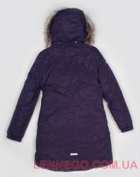 Lenne Barby куртка парка для девочки баклажан, подросток