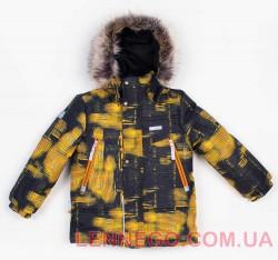 Lenne City зимняя куртка для мальчика оранжевая