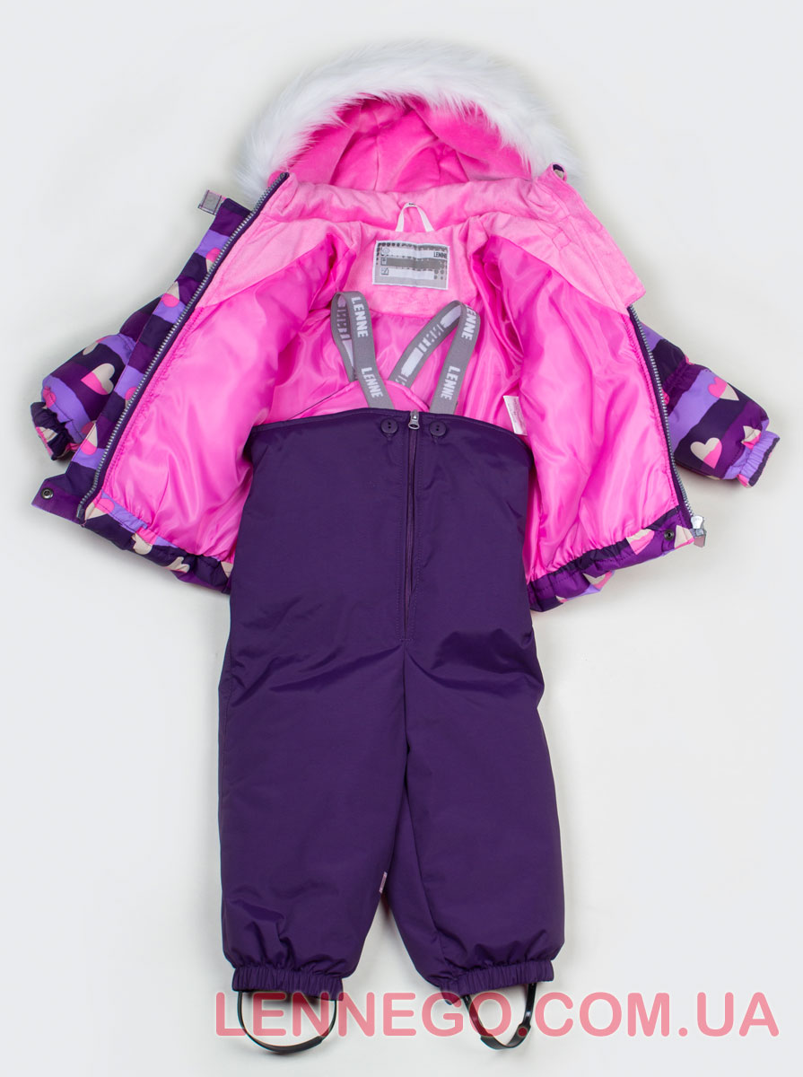 Lenne Elsa комплект для девочки фиолетовый