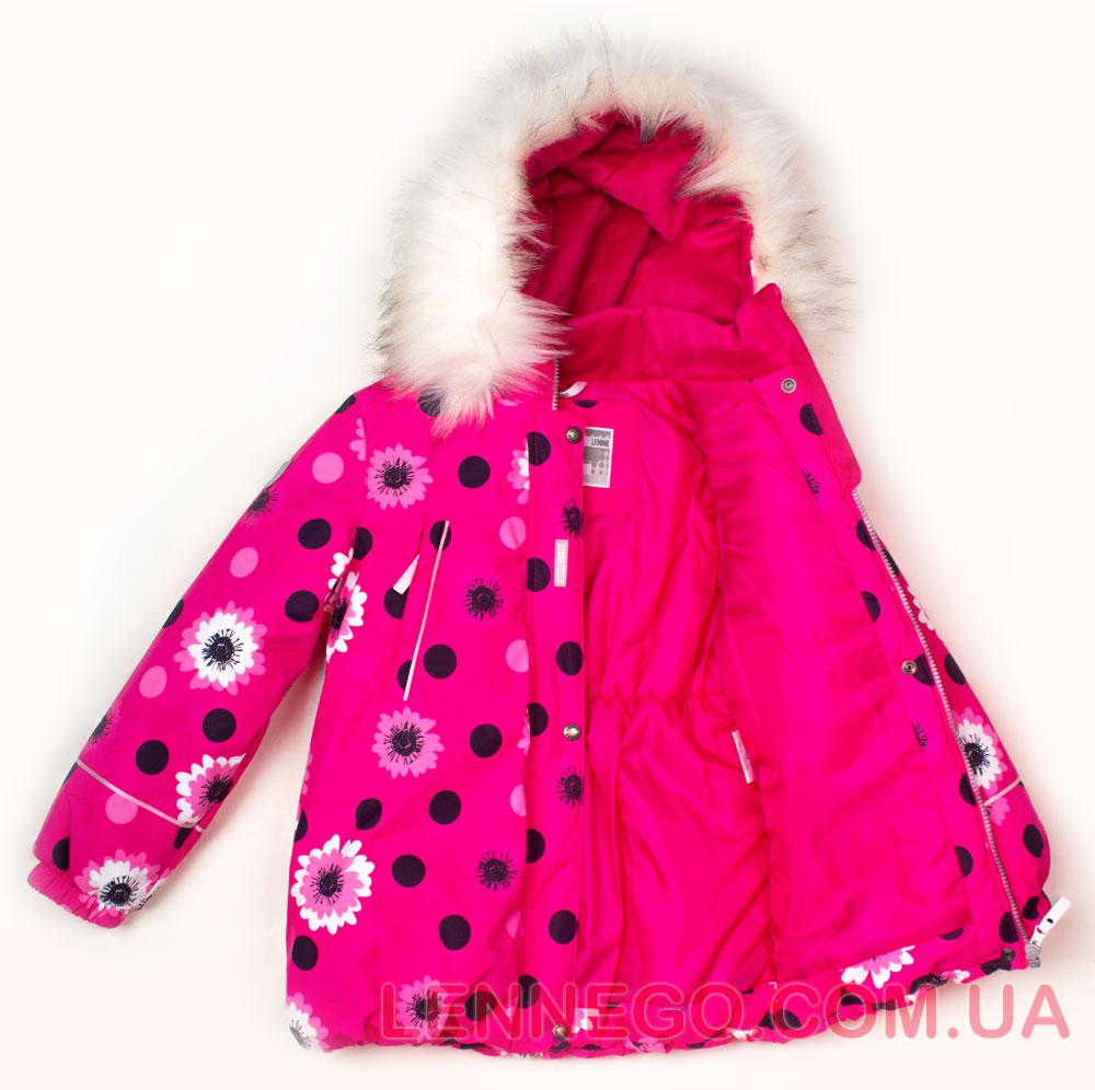 Lenne Emily куртка для девочки ягодная