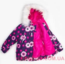 Lenne Emily куртка для девочки баклажан