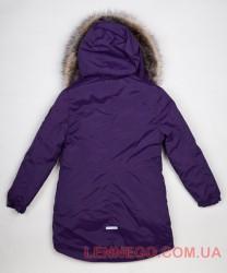 Lenne Estella куртка парка для девочки баклажан