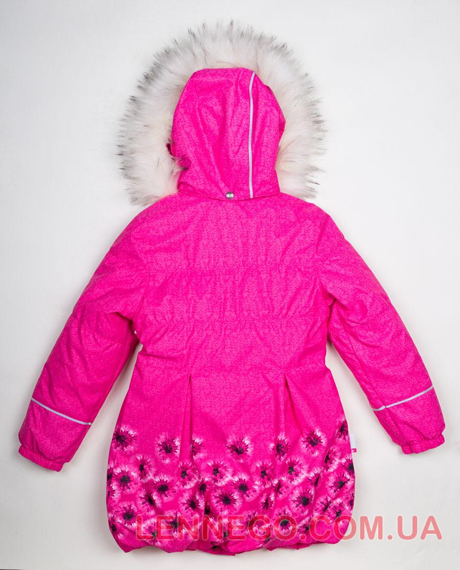 Lenne Estelle пальто для девочки малиновое