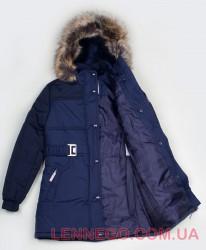 Lenne Gretel куртка для девочки темно-синяя