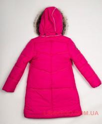 Lenne Isadora пальто для девочки малиновое