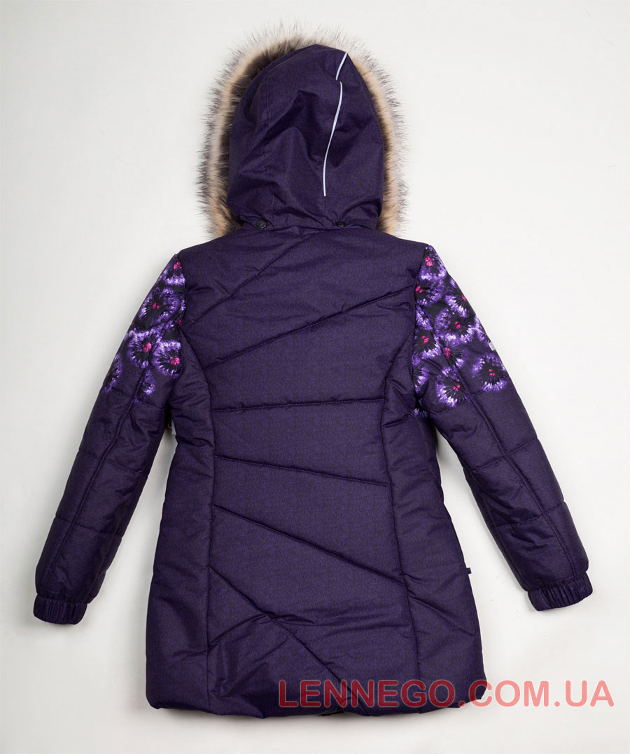 Lenne Keira пальто для девочки фиолетовое