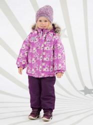 Зимний комплект для девочки (куртка+полукомбинезон) Lenne Britt 18320A/6030