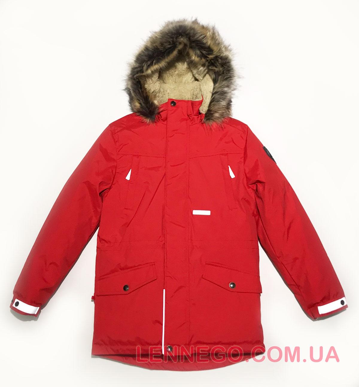 Lenne Ryan куртка парка для мальчика красная, подросток
