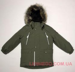 Lenne Storm удлиненная куртка парка для мальчика хаки
