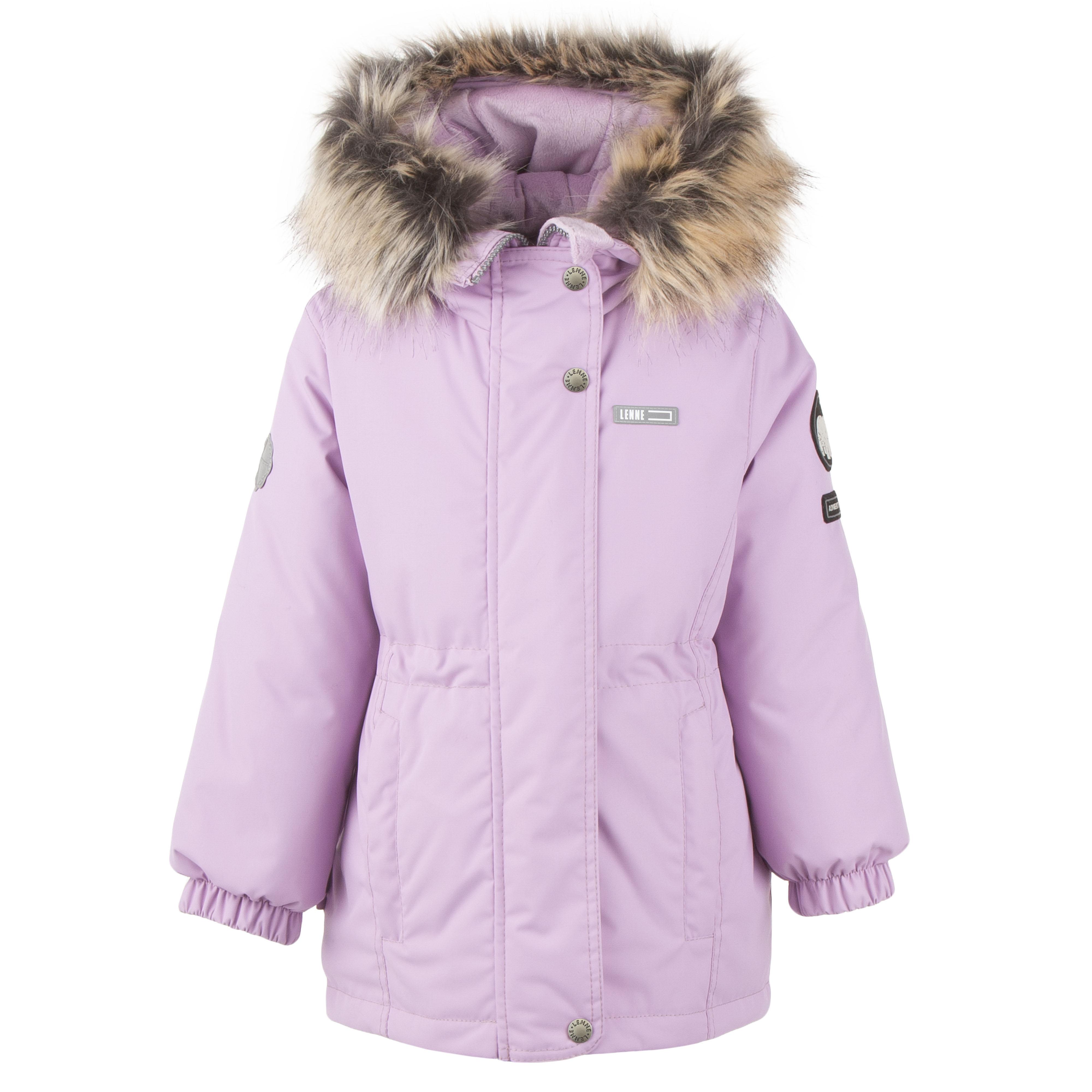 Lenne Maya удлиненная куртка парка для девочки 20330-122 нежно-розовая