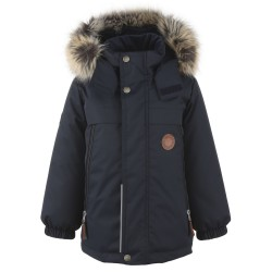 Lenne Micah удлиненная куртка парка для мальчика темно-синяя 20337-229