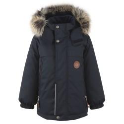Lenne Micah удлиненная куртка парка для мальчика темно-синяя 20337-987