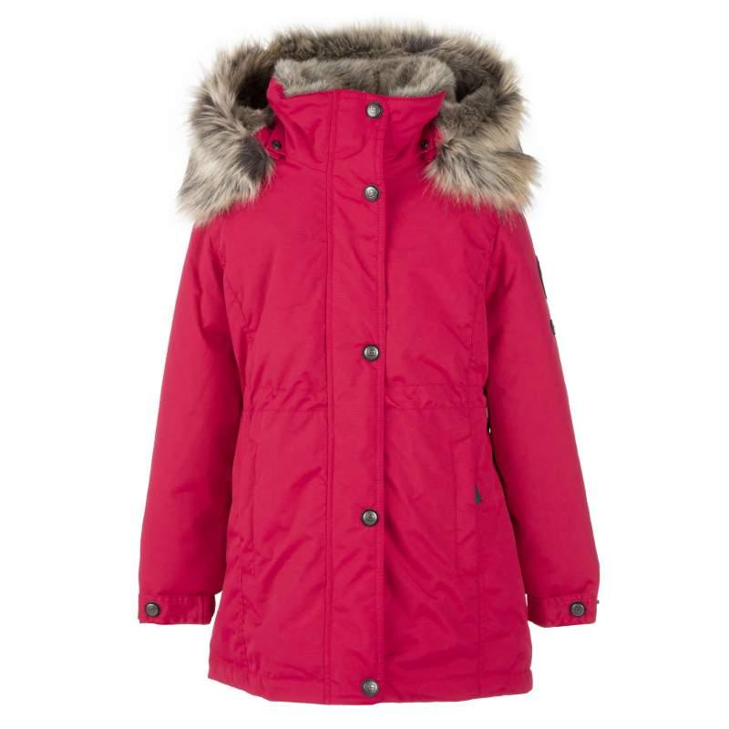 Lenne Edna куртка парка для девочек и молдых мам 20671-186 малиновая