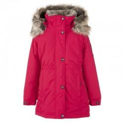 Lenne Edna куртка парка для девочек и молдых мам 20671-186 малиновая (1)