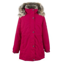 Lenne Edna куртка парка для девочек и молодых мам 20671/095 красная