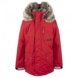 Lenne Jako куртка парка для мальчика красная 20368/622