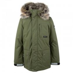 Lenne Jako куртка парка для мальчика зелёная 20368/334