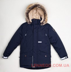 Lenne Ryan куртка парка для мальчика темно-синяя