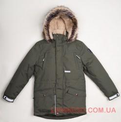 Lenne Ryan куртка парка для мальчика хаки