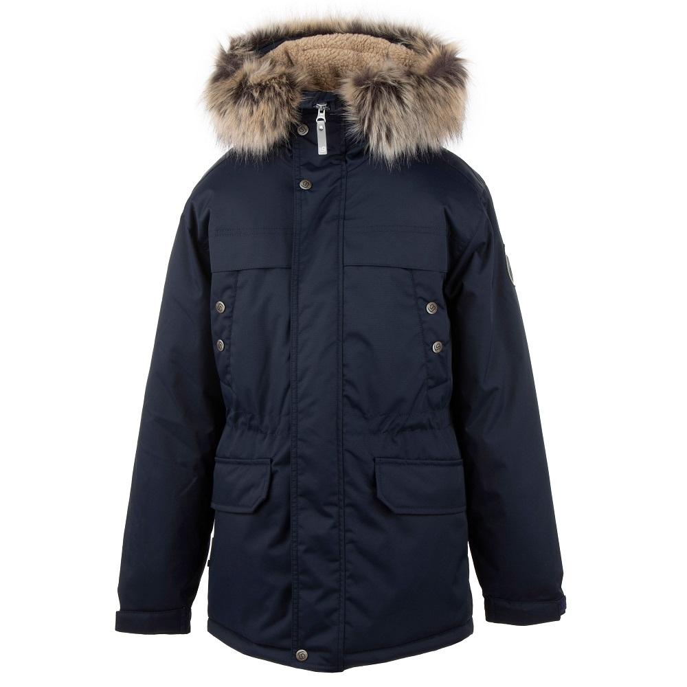 Lenne Wafi куртка парка для мальчика тёмно-синяя 20369A/229