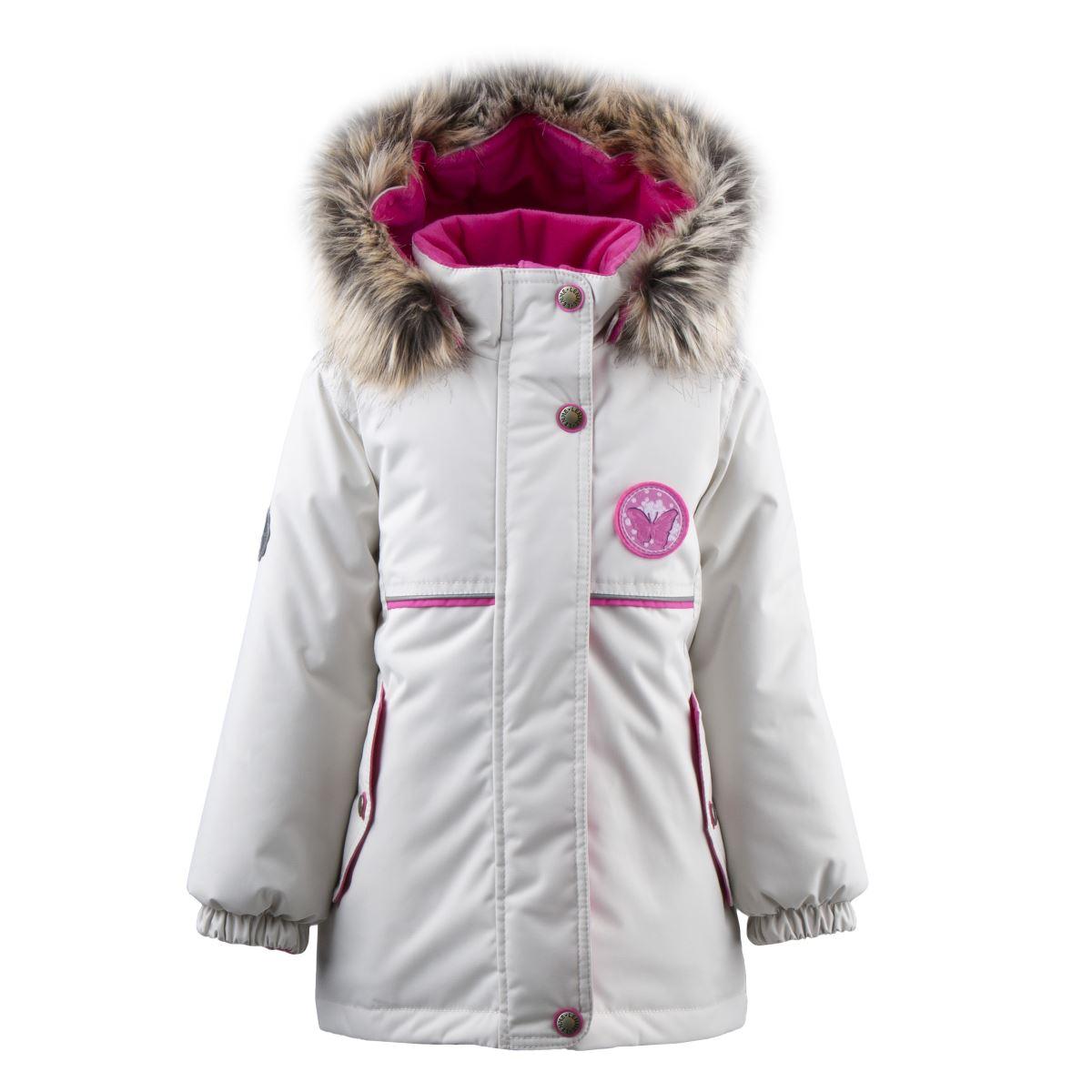 Lenne Miriam удлиненная куртка парка для девочки бежевая