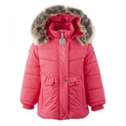 Lenne Perle куртка для девочки тёмный коралловая