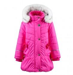 Lenne Alice пальто для девочки розовое
