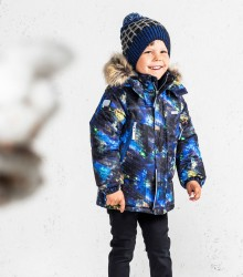 Куртка для мальчика lenne city синяя art.19336/6355
