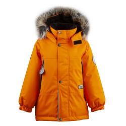 Lenne Mick удлиненная куртка парка для мальчика оранжевая