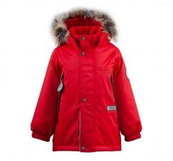 Lenne Mick удлиненная куртка парка для мальчика красная