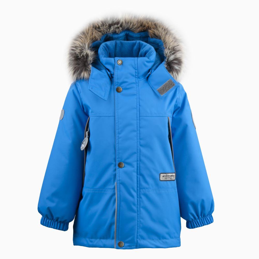 Lenne Mick удлиненная куртка парка для мальчика голубая