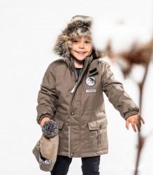 Lenne Wolf удлинённая куртка парка для мальчика