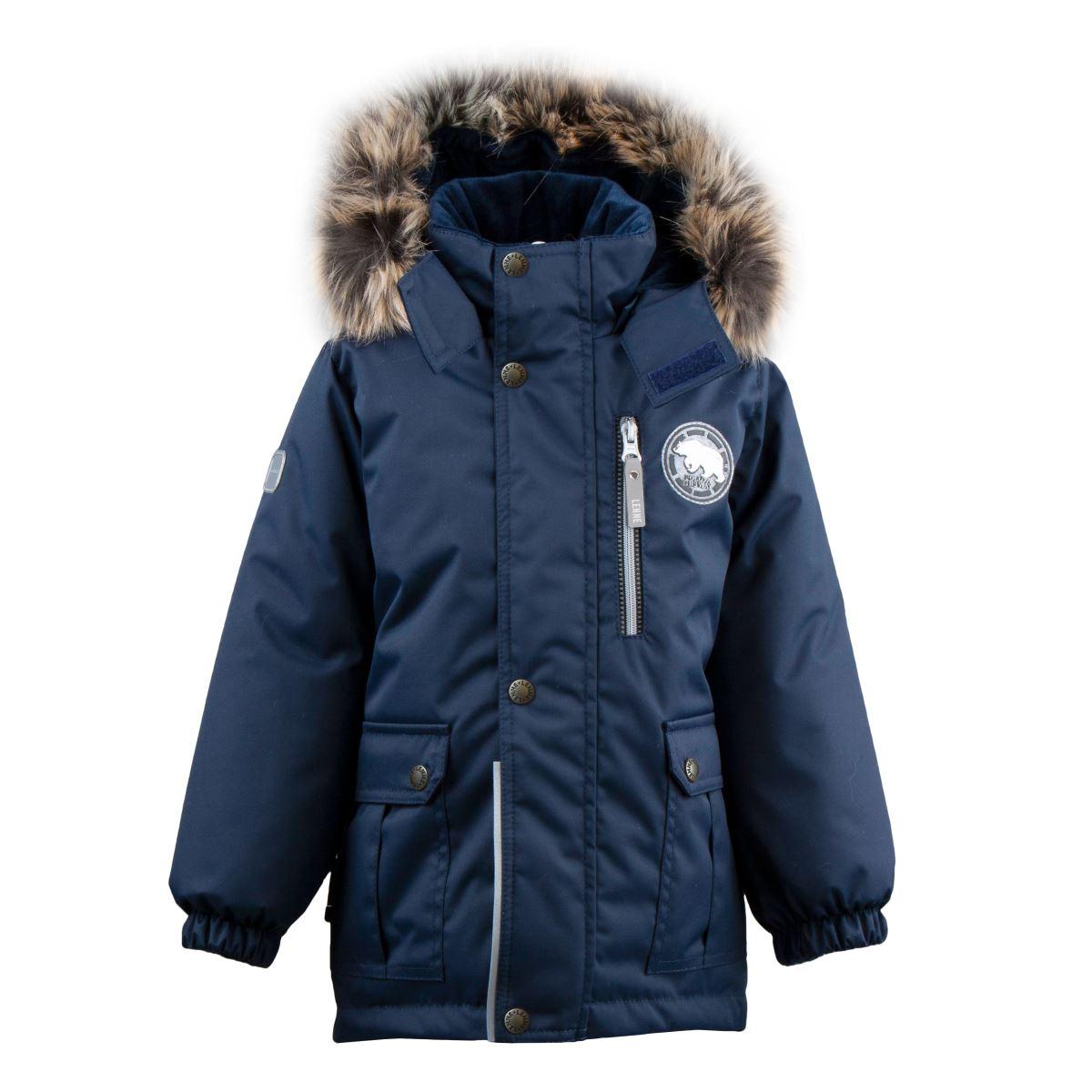 Lenne Snow удлиненная куртка парка для мальчика тёмно-синяя