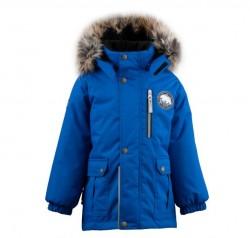 Lenne Snow удлиненная куртка парка для мальчика синяя