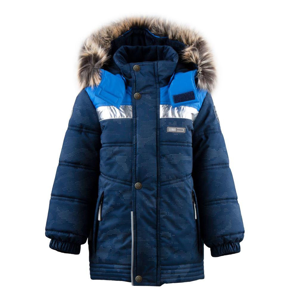 Lenne Nordic удлиненная зимняя куртка для мальчика синяя