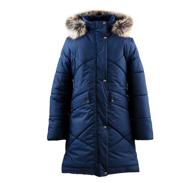 Lenne Gudrun пальто для девочки синие