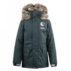 Lenne Nash куртка парка для мальчика зелёная