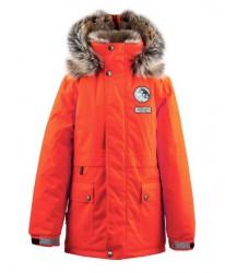 Lenne Nash куртка парка для мальчика оранжевая
