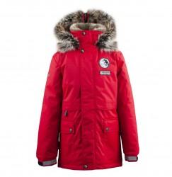 Lenne Nash куртка парка для мальчика красная
