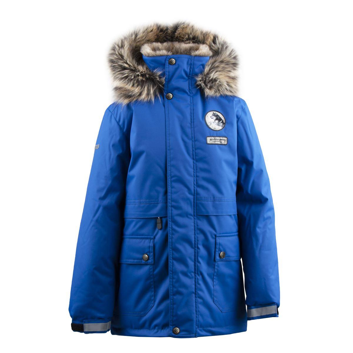 Lenne Nash куртка парка для мальчика синяя